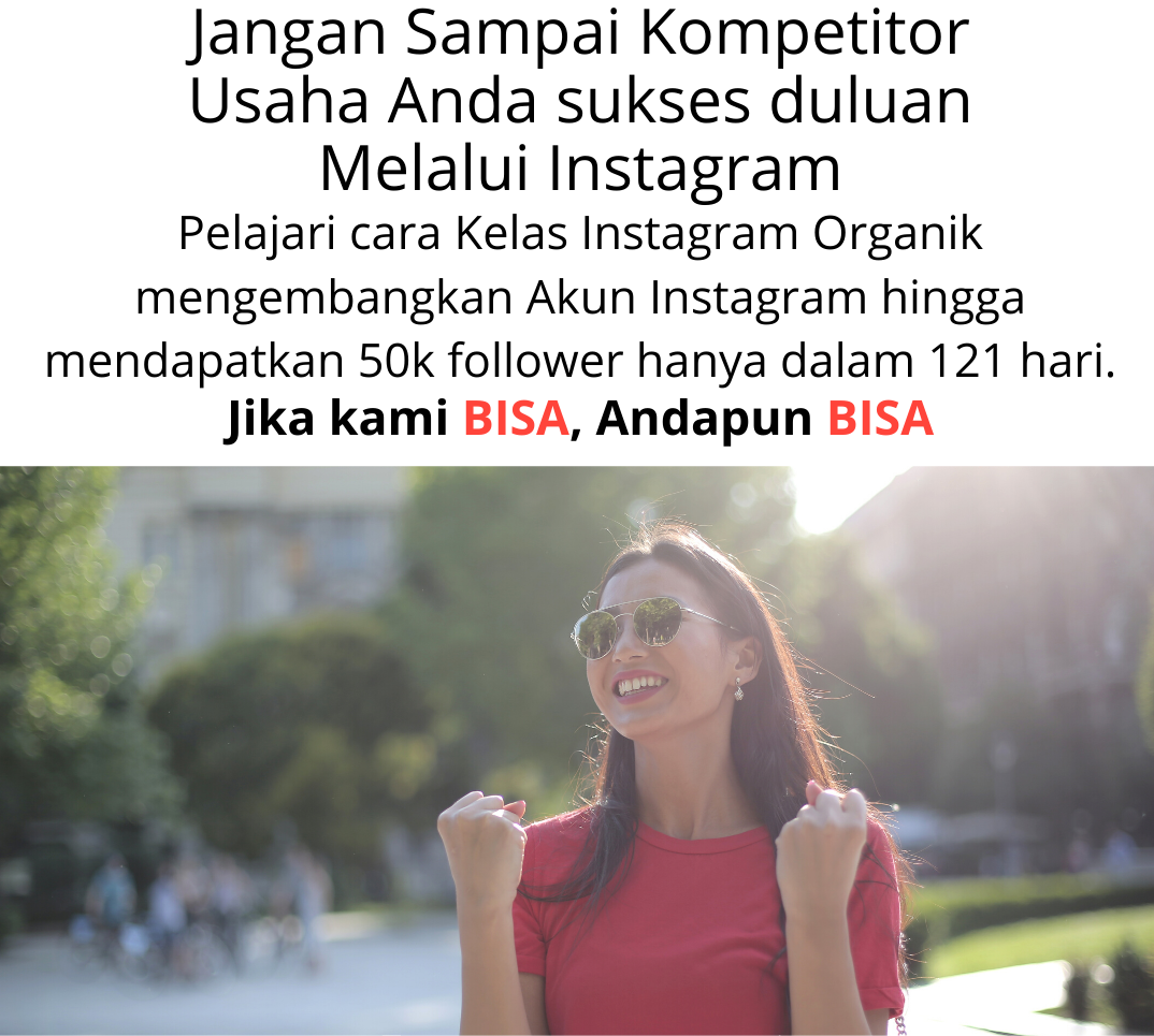 Cara menambah follower Instagram, buat akun instagram jualan
